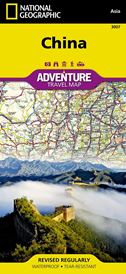 Map of China - National Geographic Adventure Travel Map