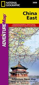China East - National Geographic Adventure Travel Map