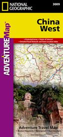China West - National Geographic Adventure Travel Map
